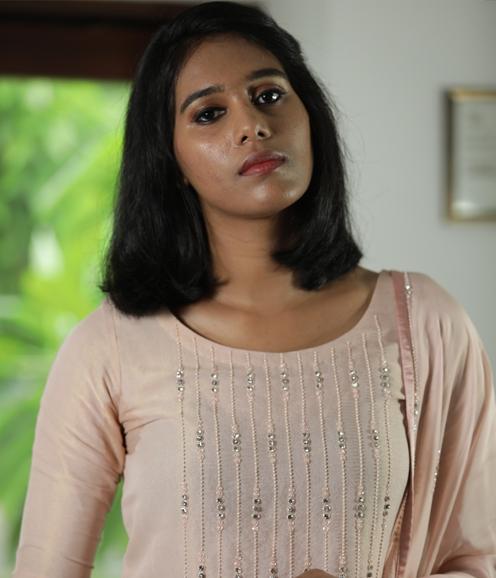 UnStitched Salwar Material - Peach